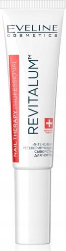 EVELINE - NAIL THERAPY PROFESSIONAL - REVITALUM - Intensywnie regenerujące serum do paznokci - 8 ml