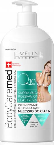 EVELINE - BodyCareMed + Q10 - Intensywnie ujędrniające mleczko do ciała do skóry suchej i mało elastycznej - 350 ml