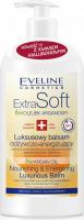 Eveline Cosmetics - Extra Soft - Luxurious Balm - Luksusowy balsam odżywczo-energetyzujący do skóry suchej i wrażliwej - 350 ml