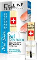 EVELINE - Nail Salon Professional - Total Action - Skoncentrowana odżywka-serum do paznokci - 12 ml
