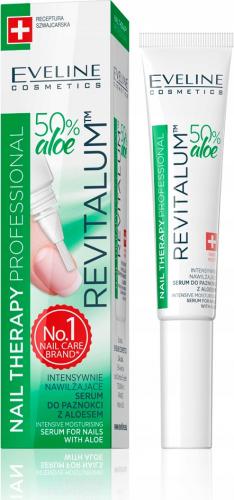 EVELINE - NAIL THERAPY PROFESSIONAL - REVITALUM - Intensywnie nawilżające serum do paznokci z aloesem