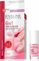 EVELINE - NAIL THERAPY PROFESSIONAL - 6 in1 Color Nail Conditioner