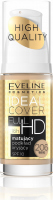 Eveline Cosmetics - IDEAL COVER FULL HD - Mattifying foundation for the face - SPF10