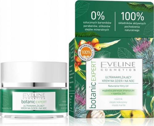 Eveline Cosmetics - Botanic Expert - Ultranawilżający krem do twarzy na dzień i na noc - 50 ml