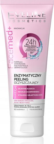 EVELINE - FaceMed + Enzymatyczny peeling do twarzy dla cery wrażliwej i suchej
