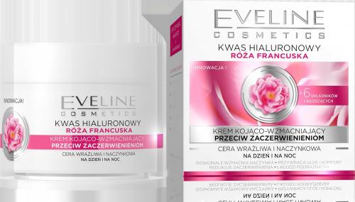 EVELINE - Wygładzający krem do twarzy o działaniu przeciwzmarszczkowym - Cera wrażliwa i naczynkowa - 50 ml