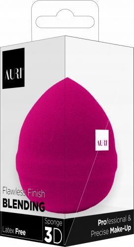 AURI - Flawless Finish Blending - Latex Free Sponge - Latex free makeup sponge - PINK