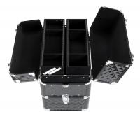 Kufer kosmetyczny - NS038 - 3D BLACK DIAMOND