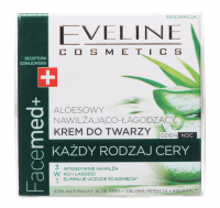 EVELINE - FaceMed + Moisturizing and soothing face cream with aloe - 50 ml