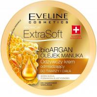 EVELINE - ExtraSoft BioArgan Cream - Odżywczy krem odmładzający do twarzy i ciała