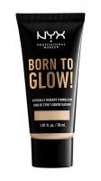 NYX Professional Makeup - BORN TO GLOW - NATURALLY RADIANT FOUNDATION - Rozświetlający podkład do twarzy - TRUE BEIGE - TRUE BEIGE