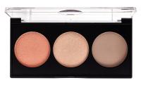 HEAN - SHAPE & GLOW PALETTE 3 IN 1 - Professional 3 in 1 modeling palette