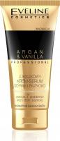 Eveline Cosmetics - ARGAN & VANILLA PROFESSIONAL - Luksusowy krem-serum do rąk i paznokci - Wanilia i Olej arganowy - 100 ml