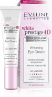 EVELINE - White Prestige 4D - Whitening Eye Cream - Eye cream for sensitive skin 15 ml