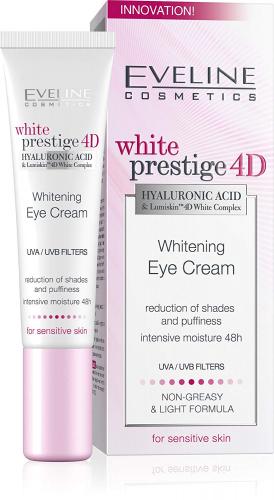 EVELINE - White Prestige 4D - Whitening Eye Cream - Eye cream for sensitive skin 15 ml