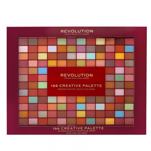 MAKEUP REVOLUTION - 196 CREATIVE PALETTE - Paleta 196 cieni do powiek