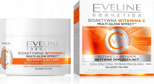 Eveline Cosmetics - Rozświetlający krem odmładzający - Noc/Dzień - 50 ml