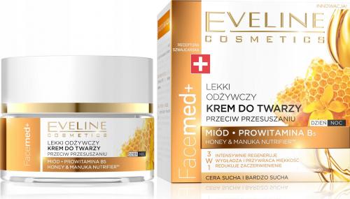 EVELINE - FaceMed + Odżywczy krem do twarzy przeciw przesuszaniu - Cera sucha - 50 ml