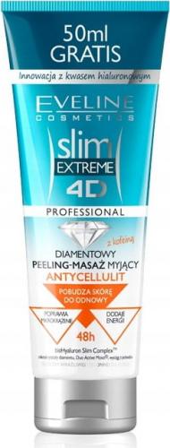 EVELINE - SLIM EXTREME 4D PROFESSIONAL - Diamentowy peeling antycellulitowy do ciała - 250 ml