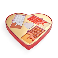 I Heart Revolution - Chocolate Heart - Gift set for eye and face makeup