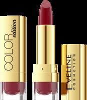 EVELINE - COLOR Edition Lipstick - Pomadka do ust - 729 - DEEP RED - 729 - DEEP RED