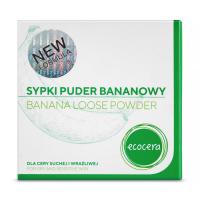 Ecocera - BANANA LOOSE POWDER - Sypki puder bananowy do twarzy - 8g