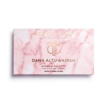 MAKEUP REVOLUTION - DANA ALTUWAIRSH SHADOW PALETTE - Paleta 22 cieni do powiek