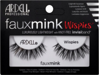ARDELL - FAUX MINK - Luxuriously Lightweight with invisiband - Artificial strip eyelashes