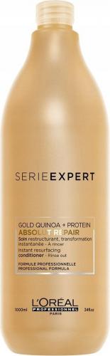 L'Oréal Professionnel - SERIE EXPERT - ABSOLUT REPAIR - GOLD QUINOA + PROTEIN Conditioner - Odżywka do włosów zniszczonych - 1000 ml