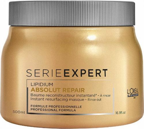 L'Oréal Professionnel - SERIE EXPERT - ABSOLUT REPAIR - GOLD QUINOA + PROTEIN - Odbudowująca maska do mocno zniszczonych włosów - 500 ml