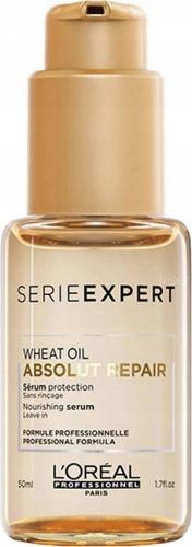 L'Oréal Professionnel - SERIE EXPERT - WHEAT OIL - ABSOLUT REPAIR - Serum ochronne do włosów zniszczonych - 50 ml - BEZ SPŁUKIWANIA