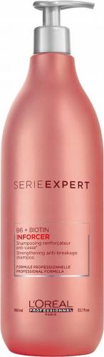 L'Oréal Professionnel - SERIE EXPERT - B6 + BIOTIN - INFORCER Shampoo - Wzmacniający szampon do włosów osłabionych i łamliwych - 980 ml