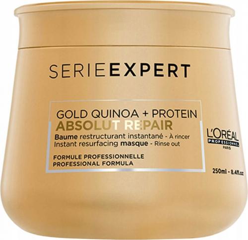 L'Oréal Professionnel - SERIE EXPERT - ABSOLUT REPAIR - GOLD QUINOA + PROTEIN - Odbudowująca maska do mocno zniszczonych włosów - 250 ml