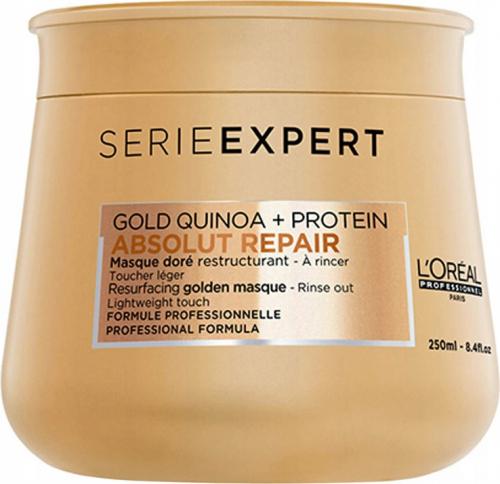 L'Oréal Professionnel - SERIE EXPERT - ABSOLUT REPAIR - GOLD QUINOA + PROTEIN - Złota maska do włosów zniszczonych - 250 ml