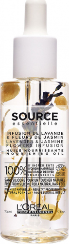 L'Oréal Professionnel - SOURCE ESSENTIELLE - NOURISHING OIL - Nourishing oil for dry and sensitized hair - 70 ml