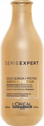 L'Oréal Professionnel - SERIE EXPERT - ABSOLUT REPAIR - GOLD QUINOA + PROTEIN Shampoo - Odbudowujący szampon do mocno zniszczonych włosów - 300 ml