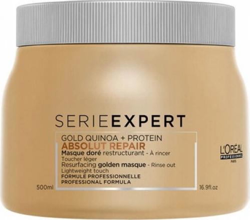 L'Oréal Professionnel - SERIE EXPERT - ABSOLUT REPAIR - GOLD QUINOA + PROTEIN - Złota maska do włosów zniszczonych - 500 ml