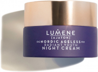 LUMENE - AJATON - NORDIC AGELESS RADIANT YOUTH NIGHT CREAM - Rejuvenating and smoothing night cream - 50 ml