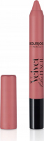 Bourjois - Velvet the Pencil - Matte Lipstick - Matte lipstick in a pencil - 04 AMOU-ROSE - 04 AMOU-ROSE