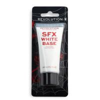 MAKEUP REVOLUTION - SFX WHITE BASE - FACE PAINT - Płynna farba do twarzy