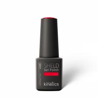 Kinetics - SHIELD GEL Nail Polish - Hybrydowy lakier do paznokci - 435 - GET*RED*DONE - 435 - GET*RED*DONE