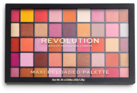 MAKEUP REVOLUTION - MAXI RELOADED PALETTE - Paleta 45 cienie do powiek - BIG BIG LOVE