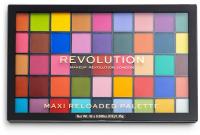 MAKEUP REVOLUTION - MAXI RELOADED PALETTE - Paleta 45 cienie do powiek - MONSTER MATTES