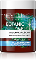 EVELINE - BOTANIC EXPERT - Głęboko nawilżający krem na dzień i na noc - Olejek kokosowy - 100 ml