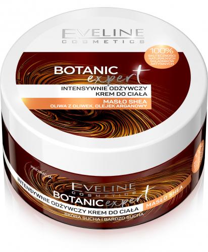 EVELINE - BOTANIC EXPERT - Intensywnie odżywczy krem do ciała z masłem Shea - Skóra sucha i bardzo sucha - 200 ml