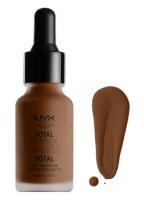 NYX Professional Makeup - TOTAL CONTROL - DROP FOUNDATION - Podkład z zakraplaczem - TCDF24 - DEEP ESPRESSO - TCDF24 - DEEP ESPRESSO