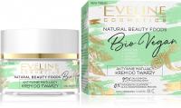 Eveline Cosmetics - NATURAL BEAUTY FOODS - Aktywnie matujący krem do twarzy - Cera mieszana i tłusta - 50 ml