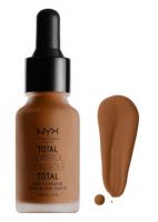NYX Professional Makeup - TOTAL CONTROL - DROP FOUNDATION - Podkład z zakraplaczem - TCDF22 - DEEP COOL - TCDF22 - DEEP COOL
