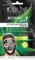 EVELINE - BOTANIC EXPERT - Cleansing and Matting face mask - Mixed, oily and acne skin