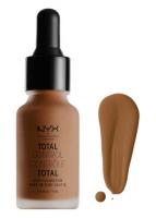 NYX Professional Makeup - TOTAL CONTROL - DROP FOUNDATION - Podkład z zakraplaczem - TCDF20 - DEEP RICH - TCDF20 - DEEP RICH